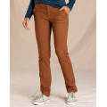 Brown Sugar - Toad&Co - Women's Earthworks Pant
