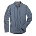 True Blue Print - Toad&Co - Men's Dewar Print LS Shirt