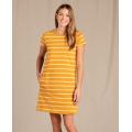Gooseberry Wide Stripe - Toad&Co - Women's Windmere Ii SS Dress