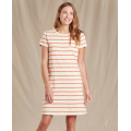 Desert Wide Stripe - Toad&Co - Women's Windmere Ii SS Dress