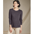 Soot Vintage Wash - Toad&Co - Women's Primo LS Crew