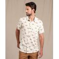 Salt Crane Print - Toad&Co - Men's Fletch SS Shirt