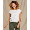 Egret - Toad&Co - Women's Anza SS Shirt