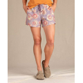 Lavender Tie Dye Print - Toad&Co - Women's Boundless Short