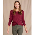 Port - Toad&Co - Women's Maisey 3/4 Sleeve Twist Top