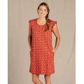 Picante Geo Print - Toad&Co - Women's Rufflita SS Dress
