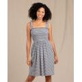 True Navy Stripe - Toad&Co - Women's Gemina Sleeveless Dress