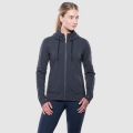 CHARCOAL HEATHER - Kuhl - Women's Mova Hoody