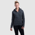 DARK HEATHER - Kuhl - Women's Mova Hoody