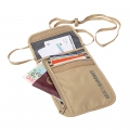 Sand - Sea to Summit - Travelling Light Neck Wallet