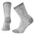 Light Gray H - Smartwool - Women's Everyday Traditional Snowflake Crew Socks