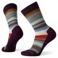 Bordeaux-Acorn - Smartwool - Women's Everyday Saturnsphere Crew Socks
