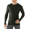 Olive Heather - Smartwool - Men's Merino 250 Baselayer Crew