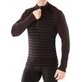 Sumatra Heather - Smartwool - Men's Merino 250 Baselayer Pattern 1/4 Zip