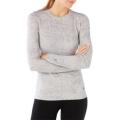 Winter White Donegal - Smartwool - Women's Merino 250 Baselayer Pattern Crew