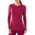 Berry Heather - Smartwool - Women's Merino 250 Baselayer Pattern Crew