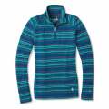 PEACOCK MARGARITA - Smartwool - Women's Merino 250 Baselayer Pattern 1/4 Zip