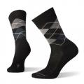 BLACK-CHARCOAL - Smartwool - Everyday Diamond Jim Crew Socks