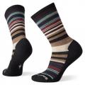 Charcoal-Moonbeam - Smartwool - Women's Everyday Jovian Stripe Crew Socks
