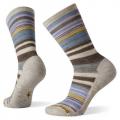 Ash-Purple Eclipse - Smartwool - Women's Everyday Jovian Stripe Crew Socks