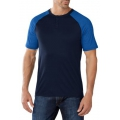 Deep Navy - Smartwool - Men's NTS Micro 150 Short Sleeve Henley