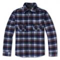 Medium Gray Plaid - Smartwool - Men's Anchor Line Shirt Jacket