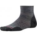 Medium Gray - Smartwool - Men's PhD Outdoor Light Mini Socks