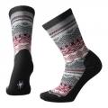 Black - Smartwool - Women's Everyday Dazzling Wonderland Crew Socks
