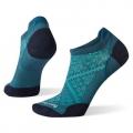 Dark Prussian Blue - Smartwool - Women's Run Zero Cushion Low Ankle Socks