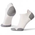 White-Light Gray - Smartwool - Women's Run Zero Cushion Low Ankle Socks