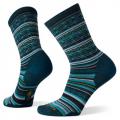 Twilight Blue - Smartwool - Women's Everyday Zig Zag Valley Crew Socks