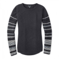 CHARCOAL HEATHER - Smartwool - Women's Shadow Pine Crew Sweater