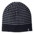 BLACK - Smartwool - Ripple Ridge Tick Stitch Hat