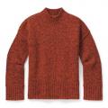 Woodsmoke-Ginger Heather Marl - Smartwool - Women's Bell Meadow Sweater