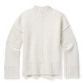 Ash-Light Gray Heather Marl - Smartwool - Women's Bell Meadow Sweater