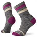 Meadow Mauve - Smartwool - Women's Everyday Heritage Crew Socks