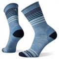 Mist Blue - Smartwool - Women's Everyday Non-Binding Pressure Free Basic Crew Socks