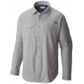 Columbia Grey - Columbia - Men's Silver Ridge Lite Long Sleeve Shirt
