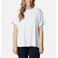 White - Columbia - Women's Extended W Zero Ice Cirro-Cool Ss Shirt