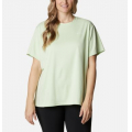 Light Lime - Columbia - Women's Extended W Zero Ice Cirro-Cool Ss Shirt