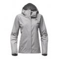 TNF Light Grey Heather/Black Plum - The North Face - Women's Venture 2 Jacket