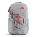 Mid Grey Dark Heather/Fiery Red - The North Face - Jester