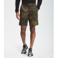 Military Olive Cloud Camo Wash Print - The North Face - Men's Rolling Sun Packable Short