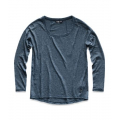 Blue Wing Teal Heather - The North Face - Women's L/S Modoc Top