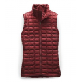 Deep Garnet Red Matte - The North Face - Women's Thermoball Eco Vest