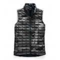 TNF Black Waxed Camo Print - The North Face - Women's Thermoball Eco Vest
