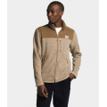 Hawthorne Khaki Dark Heather/Utility Brown Dark Heather - The North Face - Men's Gordon Lyons Full Zip