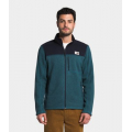 Mallard Blue Dark Heather/Aviator Navy Dark Heather - The North Face - Men's Gordon Lyons Full Zip