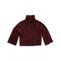 Deep Garnet Red - The North Face - Women's Outerlands Funnel Neck Waffle