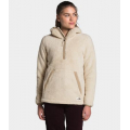 Bleached Sand/Hawthorne Khaki - The North Face - Women's Campshire Pullover Hoodie 2.0